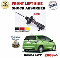 FOR HONDA JAZZ + HYBRID 2008 >NEW FRONT LEFT SIDE SHOCK ABSORBER SHOCKER