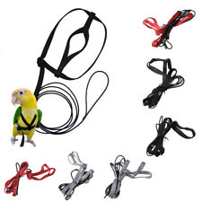 Bird Harness Leash Parrots Adjustable Rope Training For Parrot Birds Out Fly