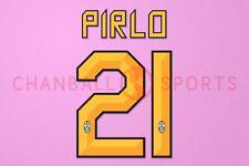 Pirlo #21 2010-2012 Juventus Homekit Nameset Printing