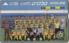 ISRAEL BEZEQ BEZEK PHONE CARD TELECARD 50 UNITS 1994-95 MACCABI T-A FOOTBALL