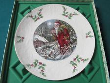 """Royal Doulton England Christmas Day 1980 Collector Plate Nib, 8 1/2"""""""