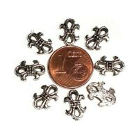 10 Perles connecteur entre-deux Maillon ovale 18x9mm Apprêt création bijoux A045