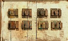 New listing Lot of 8 Vintage Cabinet Door Latches / Catches ~Rustic ~ Hardware