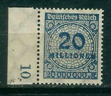 Deutsches Reich 319 Wb , ** , Infla geprüft