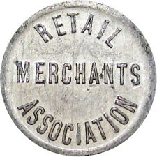 Monmouth Illinois Good For Token Retail Merchants Assn 1/4 Cent Very Scarce