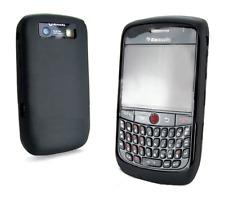 Etui Housse Silicone (NOIR) ~ Blackberry 8900 Curve / 9300 Curve