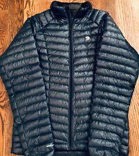 NEW Mountain Hardwear Mens Ghost Whisperer Down Jacket - Zinc Large L 800 fill