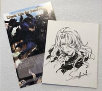 GRANBLUE FANTASY Siegfried Sign Post Card Set Shikishi bromide White day