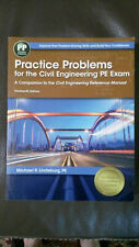 Practice Problems for the Civil Engineering PE Exam 13th Edition