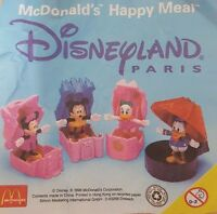 McDonalds Happy Meal Toy 1996 Disneyland Mickey Mouse Pop Up Toys - Various