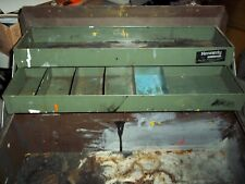 "RARE VTG KENNEDY 4 TRAY CANTILEVER STYLE 1018-8164 MECHANICS TOOL BOX 18"" SIGNED"