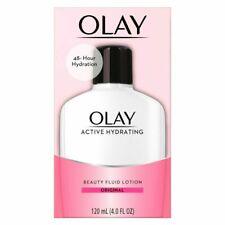 Olay Hydration Active Beauty Fluid Lotion Original 120ml / 4 oz-48 Hr Hydration
