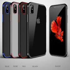 For iPhone 5 6s+ 7 8 7+ 8+ X Xs XR XS max Max Phone Case Soft Gel Silicone Cover