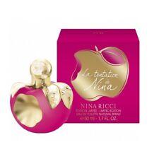 Parfum NINA RICCI LA TENTATION EAU DE TOILETTE 50ML Neuf et sous blister