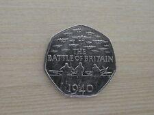 BATTLE OF BRITAIN 1940 50P COIN 2015 CIRCULATION