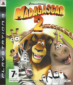 MADAGASCAR 2 for Playstation 3 PS3 - with box & manual