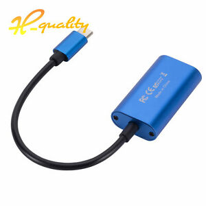 HDMI to USB 3.0 Type-C Video Capture Card Recorder Game/Video Live Streaming