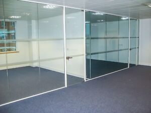 Glass Wall Services Fully Installed London