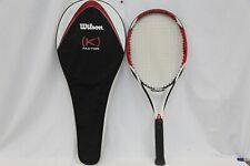Wilson K Factor K Arophite Black Racquet - 4 1/2 Grip