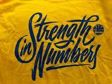 Shirt Strength In Numbers Golden State Warriors Rockets 5/20/2018 New SGA XL