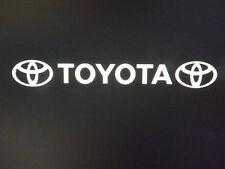 Toyota Car pegatina de vinilo sunstrip logotipo gráficos calcomanías Delantero Trasero Lado Sombrero