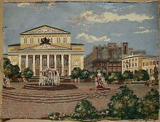 Russian Ukrainian Soviet Gobelin Bolshoi Theater Moscov  tapestry carpet rug