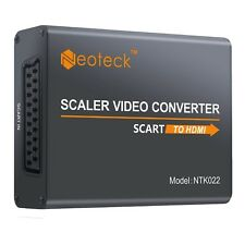 Neoteck Aluminum SCART To HDMI Converter 1080P SCART to HDMI Adapter + 3.5mm ...