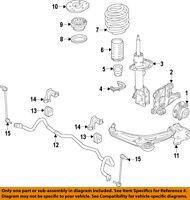 FORD OEM 2013 Escape Front Suspension-Strut CV6Z18124G