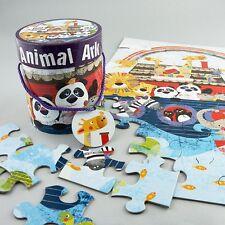 Promo Floss & Rock Giant Animal Ark 48 Piece Floor Jigsaw Kids Birthday Gift Box