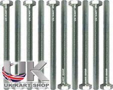 TonyKart / OTK Hex Head M10 x 130mm Rear Bumper Bolt x 10 UK KART STORE