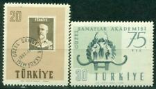 TURKEY 1957 75TH ANNIV. OF ACADEMY OF ARTS MNH C1140