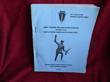 1981 Army Training & Evaluation Program EXTRACT 71-2 ST 7-190 FY 83 Fort  #255