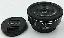 Used Canon EF 40mm F2.8 STM Prime Lens AF Aspheric from Japan With Tracking
