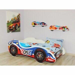 F1 Racing Car Bed 05 CAR, Children Boys Girls Bed with MATTRESS 140x70cm +pillow
