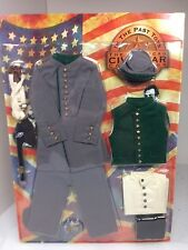 1/6 Scale Highly Detailed In the Past Toys Civil War Uniform Set MOC