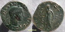 Ancient Roman Coin - Severus Alexander - Sestertius - Spes Reverse