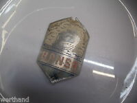 Steuerkopfschild Schutzblechfigur Oldtimer  Altes Fahrrad  Emblem Hansa alt