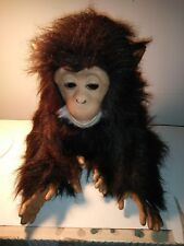 Fur Real Furreal Cuddle Chimp Chimpanzee Interactive Plush Realistic Monkey Pet