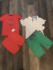 Boys Lot Size 3T 4T And 5 Shorts And Shirts Nwts