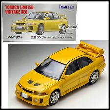 Tomica Limited Vintage NEO LV-N187a MITSUBISHI LANCER EVOLUTION V 5 98' 1/64 EVO