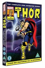 THE MIGHTY THOR 1966 TV Series The Complete Animated Cartoon Show NEW SEALED DVD