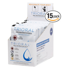 TRIORAL - Oral Rehydration Salts ORS (15, One Liter Packets/Box) World Health