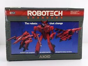 Revell 1403 Robotech Changers AXOID 1:72 Model Spacecraft Kit Damaged Box