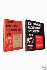Basketball Coaching DVDs - Fundamentals/Screen (2 DVDs) - 4 Hours of Instruction