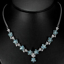 Blue Topaz Diamond Fine Necklaces & Pendants