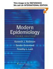 Modern Epidemiology by Timothy L. Lash, Kenneth J. Rothman(Int' Ed Paperback)3ED