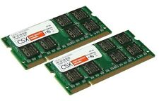 2x 2gb 4gb ddr2 800 MHz Ordinateur portable mémoire ram so DIMM pc2-6400s pc6400