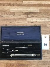 W.H. Harling Vintage Drawing Drafting Compass Pieces