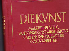 Die Kunst complet année 1928-29 Journal for free and applied art peinture Studio