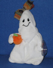 TY GHOULIANNE the HALLOWEEN GHOST BEANIE BABY - MINT with MINT TAG